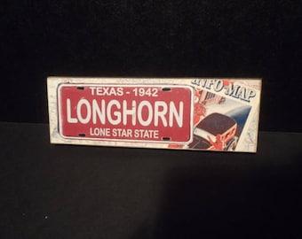 Texas Longhorn Magnet