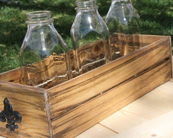 The Small Crate - Display Crate - Rustic Box - Table Crate