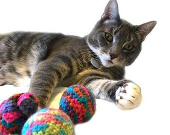 Crochet Jingle Bell Balls (set of 3)