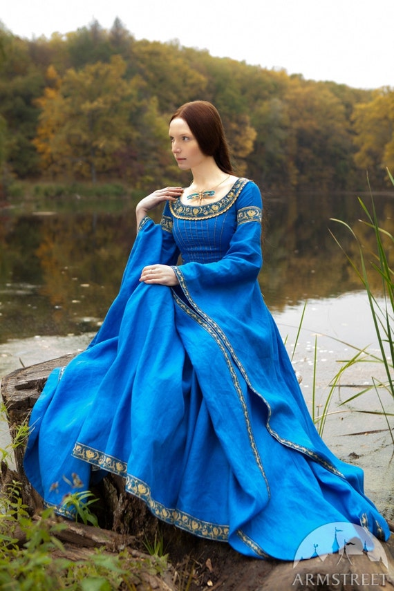 20 Discount Blue Dress Lady Of The Lake Medieval