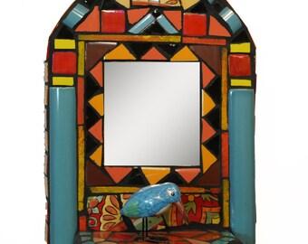 It's A Circus Mosaic Mirror