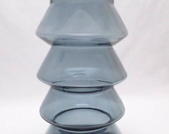 XL Art Glass Vase– Scandinavian?