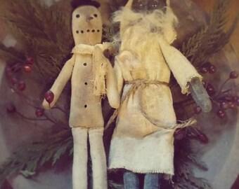 Santa & Snow Ornie's