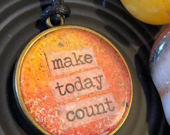 Make Today Count  |  Watercolor Statement Bracelet