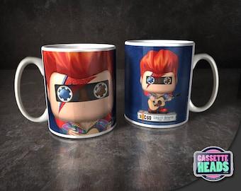 David Bowie - Ziggy Stardust - CassetteHeads 10oz Mug