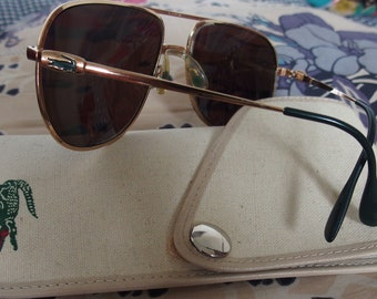 LACOSTE, spectacle frames vintage 80's with original case