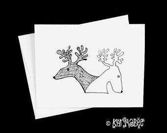 Reindeer Notecards