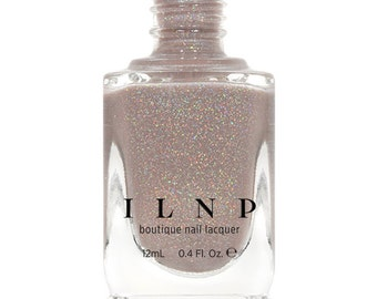 Manor House - Taupe Holographic Sheer Jelly Nail Polish