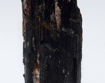 Black Tourmaline/Schorl Crystal XL No. 5 with stand area 690 grams