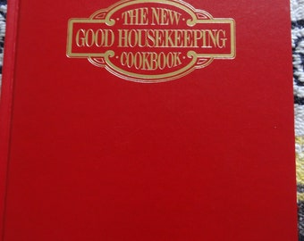 The New Good Housekeeping Cookbook Vintage Book