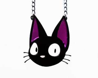 Jiji the cat necklace