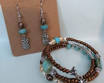 Pineapple (Pina colada) Earrings