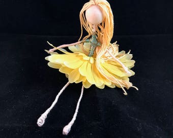 Flower fairy doll