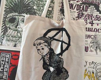 Discharge Bag LP Tote Bag Punk
