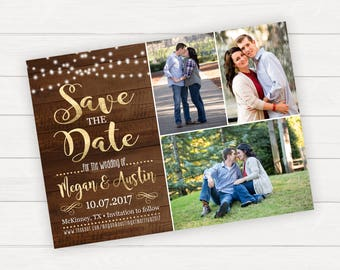 Save The Date Wedding Save The Date Save The Date Magnet Rustic Save The Date Printable Save The Date Save The Date Card Photo Save The Date