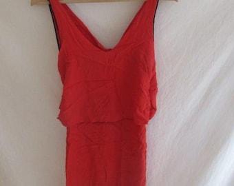 Sandro Orange dress size S to-68%