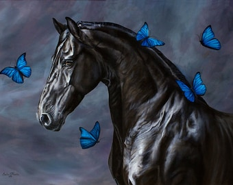 Come Fly With Me fine equine art print