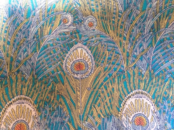 Tana lawn fabric from Liberty of London, Hera