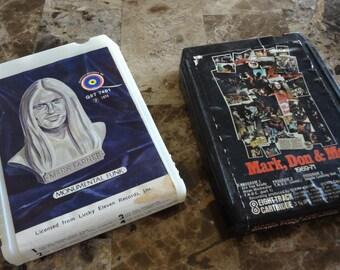 Rare 8-Track Tape Set Monumental Funk Mark Farner Don Brewer Grand Funk Railroad 1969-1971