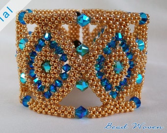 Inner Oasis Cuff Tutorial: PDF and Video