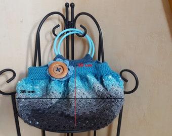 Ball /Granny bag purse