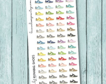 Workout Stickers, Running Shoe Icons, Health And Fitness Icons, Icon Planner Stickers
