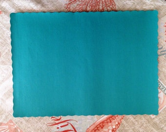 50+ Teal Green Paper Placemats Available in Quantities of 50/60/70/80/90~Dinner Place Setting~Weddings~Showers~Parties~Beach Party Decor