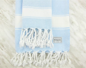 Turkish Towel, Turkish Peshtemal Towel, Turkish Bath Towel, Hamam Towel, Beach Towel, Bridesmaid,, Travel, Swim Towel