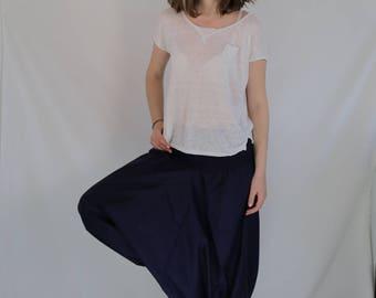 Harem Pant EXTRA LONG LENGTH Sarouel Trouser
