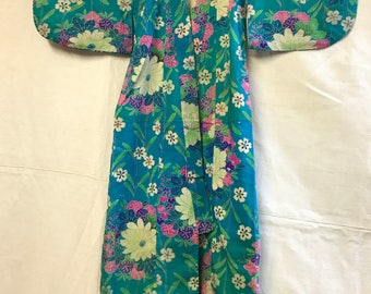 Little oasis floral bloom childrens kimono.
