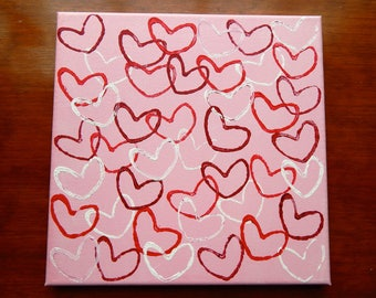 Fluttering Heart Canvas