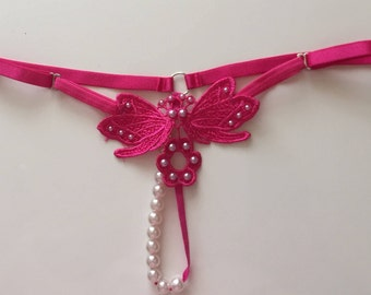 Adjustable Butterfly Style Thong