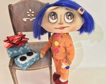 Collection doll Coraline