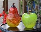 Pear & Apple Pair, Set of...