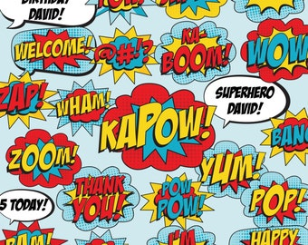 Superhero Photo Booth Props - Superhero Party Decorations - Superhero Party Signs - Instant Download and Editable File