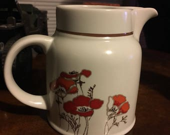 Royal doulton fieldflower stoneware pitcher