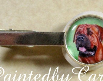 Mastiff Tie Bar, Mastiff Tie Tack, Mastiff Tie Clip, Mastiff Mens Gifts, Mastiff Dad Gifts, Mastiff Mens Jewelry, Mastiff Accessories