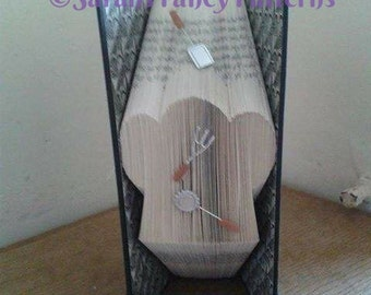 Half Price Sale - Chef/Bakers Hat - Book Folding PATTERN