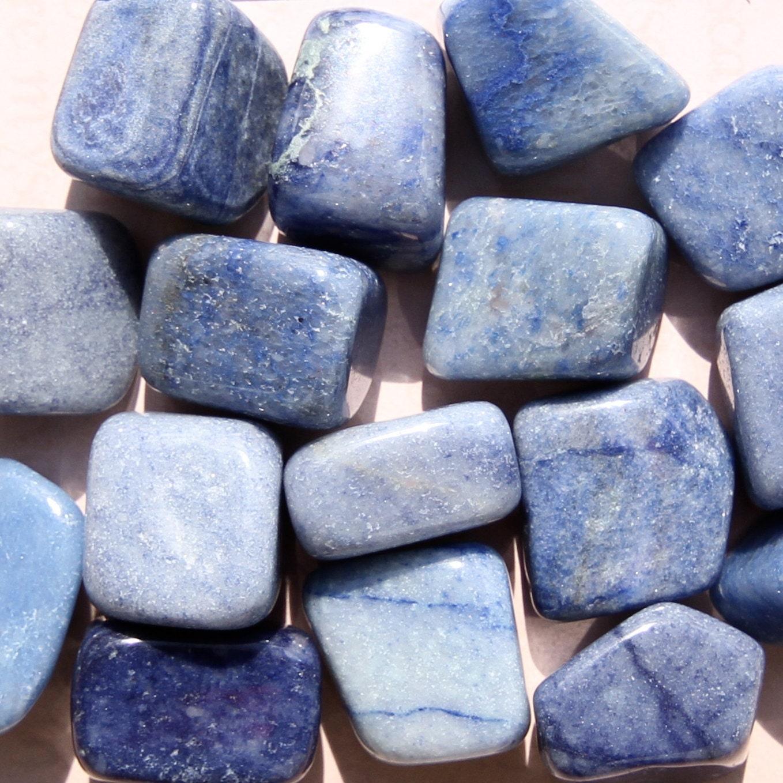 BLUE AVENTURINE Crystals Grade A Natural Tumbled Polished
