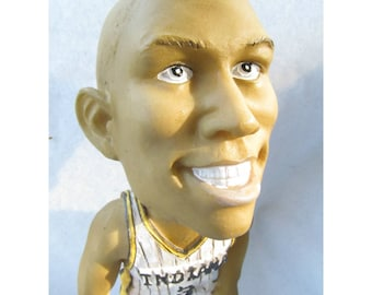Indiana basketball - Sports Fan collectible , man cave figurine , NBA Basketball , Al Harrington , bobblehead , NBA decor , #19      # 100