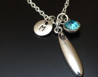 Surfboard Necklace, Surfboard Charm, Surfboard Pendant, Surfboard Jewelry, Surfer Girl Jewelry, Surfer Girl Necklace, Surfer Jewelry, Surfer