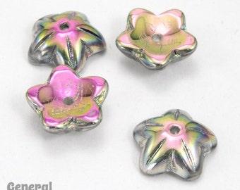 10mm Vitrail Medium Five Petal Flower (20 Pcs) #3663
