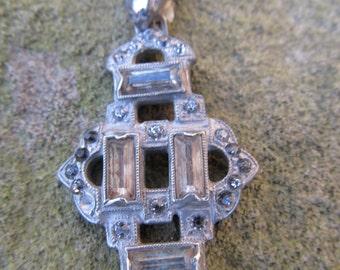 Art Deco Rhinestone Necklace