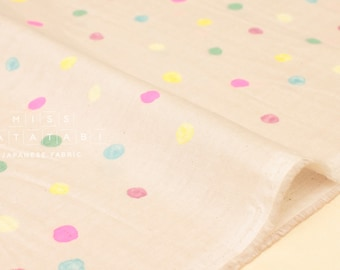 Nani Iro Kokka Japanese Fabric Colorful Pocho - C - 50cm