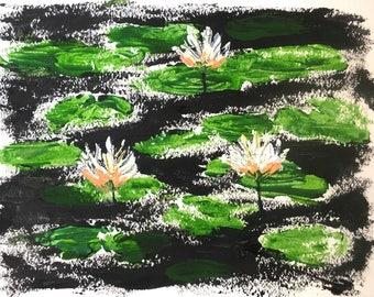 Lilies ORIGINAL PAINTING