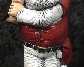 "Baseball Santa Claus ""Off the Wall"" Ceramics 1995"