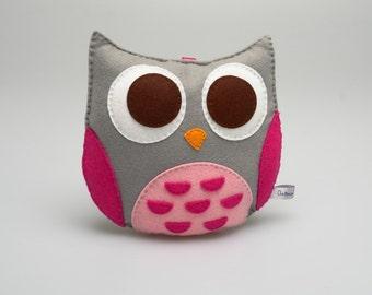 Mrs Owl - Decoration Felt Nursery