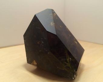 Resin Smoky Quartz Crystal