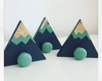 Set of 3 coat mountain