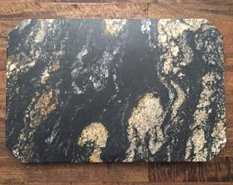 large cheese or serving board in desert dream granite 12x18